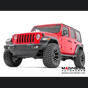 "Jeep Wrangler JL Unlimited Suspension Lift Kit w/Coils & Control Arm Drop - Stage 2 - 3.5"" Lift"